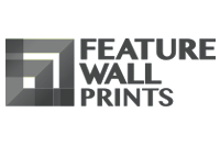 Feature Wall Prints logo grey