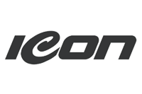 Icon apparel logo grey